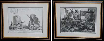 Giovanni B. Piranesi [ANTIQUITY STUDIES] 3 engravi
