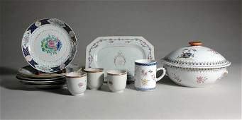 335: Miscellaneous Group of Chinese Export Porcelain Ar