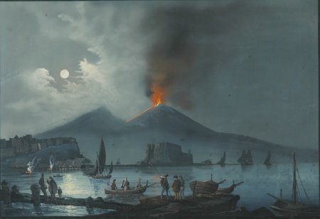 2001: Neapolitan School 19th Century The Eruption of Mo