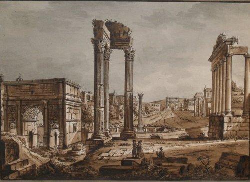 2003: Continental School 19th Century The Roman Forum w
