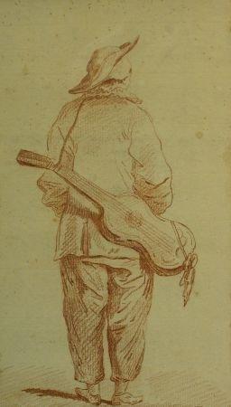 2023: School of Nicolas Lancret Pierrot with a Guitar