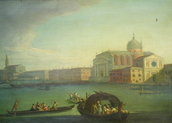 2101: Venetian School 18th Century View of the Church o