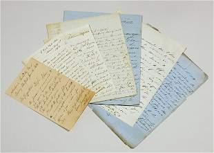 Letters to George Steers