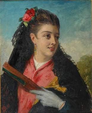 John Bagnold Burgess British, 1830-1897 The Torea