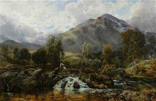 Thomas Clark British, 1820-1876 In the Highlands