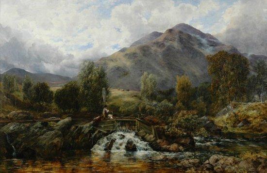 5002: Thomas Clark British, 1820-1876 In the Highlands
