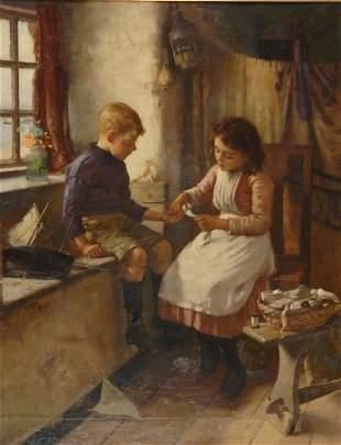 William Banks Fortescue English, 1850-1924 A Slig