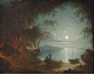 Sebastian Pether British, 1790-1844 Figures in a