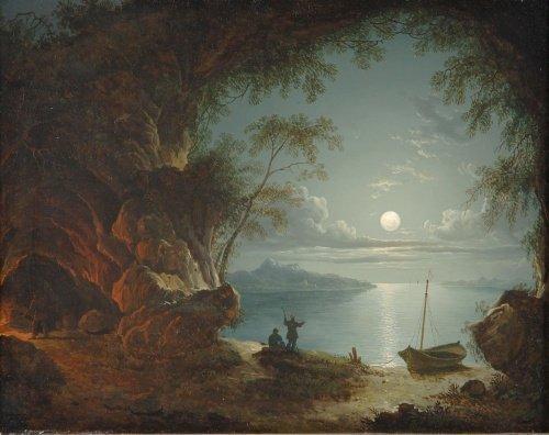 5005: Sebastian Pether British, 1790-1844 Figures in a
