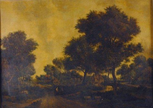 5006: Patrick Nasmyth Scottish, 1787-1831 Figures Along