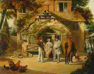 British School 19th Century Before the Inn