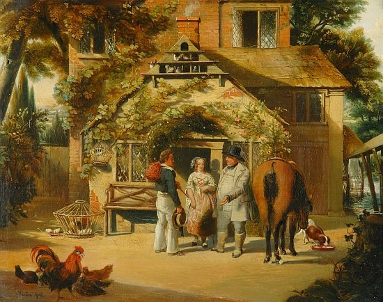 5008: British School 19th Century Before the Inn