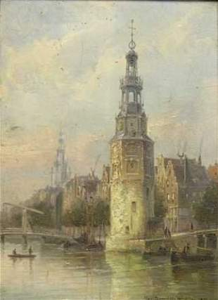 Charles Christiaan Dommelshuizen Dutch, 1842-1928