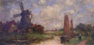 Jacob Henricus Maris Dutch, 1837-1899 Dutch Lands