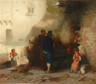 Otto Brandt German, 1828-1892 A Morning Musical O