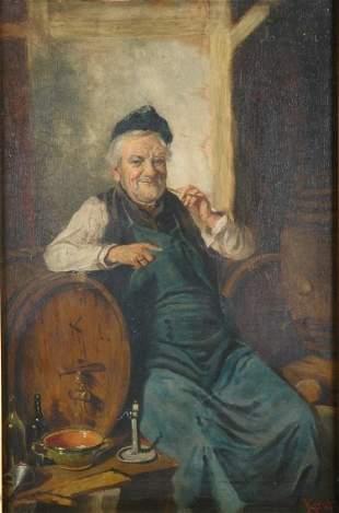 Hermann Armin Kern Hungarian, 1839-1912 In the Wi