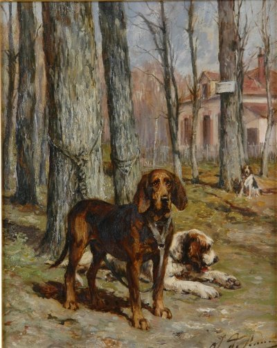 5025: Olivier de Penne French, 1831-1897 Awaiting the M