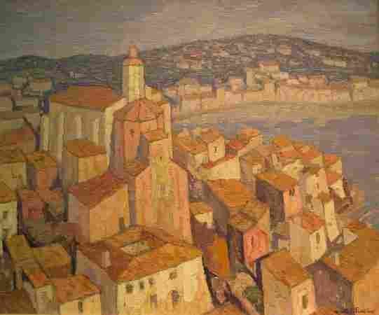 5055: Jacques Martin-Ferrieres French, 1893-1972 Cadaqu