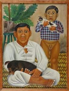 5116: Fernando Castillo Mexican, 1882-1940 Retrato de M
