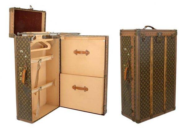 1579: Louis Vuitton Wardrobe Trunk