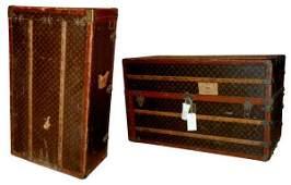 1582: Two Louis Vuitton Trunks
