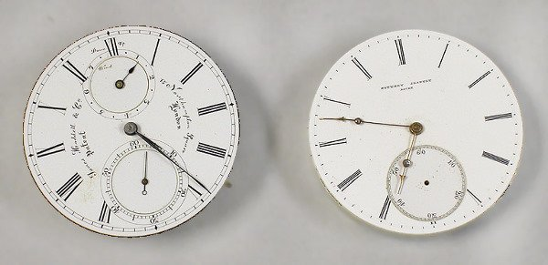 1: Two Watch Movements