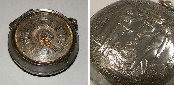 4: Unusual Silver Pair Case Fusee Watch