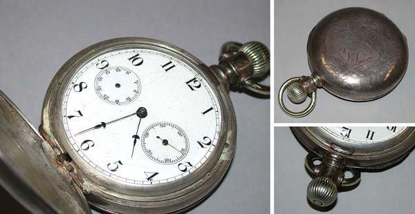 7: Openface Masonic Watch