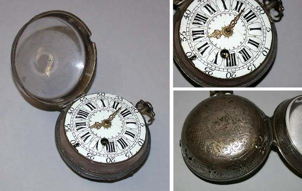 9: Early Silver Oignon Hour Repeater Watch