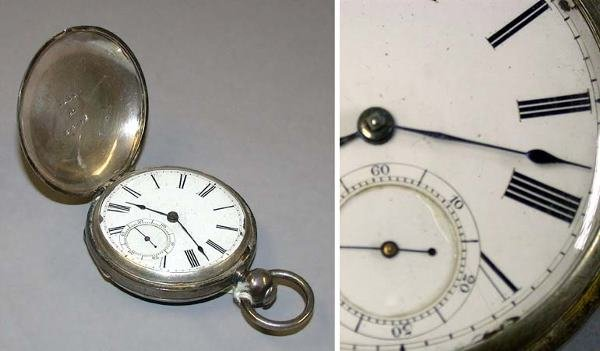 18: Early and Rare Silver Hunting Case Watch