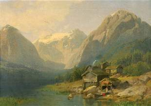 Hermann Ottomar Herzog German/American, 1832-1932