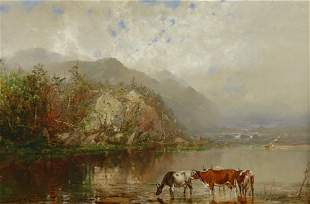 William Louis Sonntag 1822-1900 Mount Hayes, New