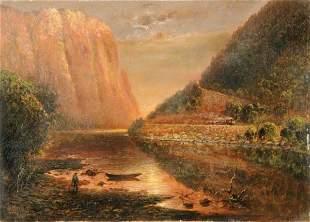 Granville Perkins 1830-1895 Delaware Water Gap
