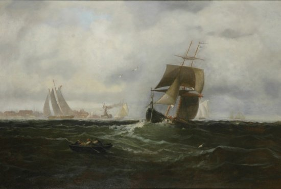 2414: Franklin Dullin Briscoe 1844-1903 Shipping Offsho