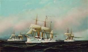 Antonio Nicolo Gasparo Jacobsen 1850-1921 The Whi