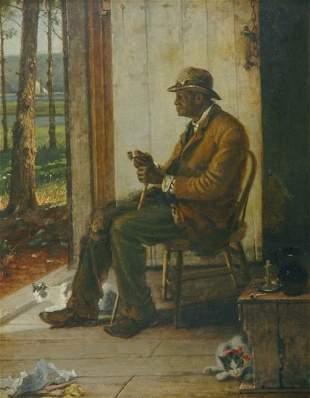 Thomas Hicks 1823-1890 Uncle Dick of Oceanic Mari
