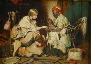 Harry Roseland 1868-1950 A Voodoo Palmist, 1907