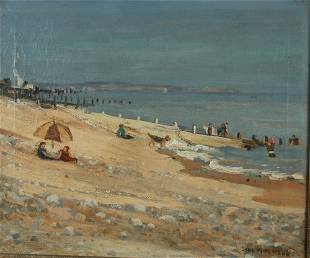2467: Jane Peterson 1876-1965 The Incoming Tide, Jersey