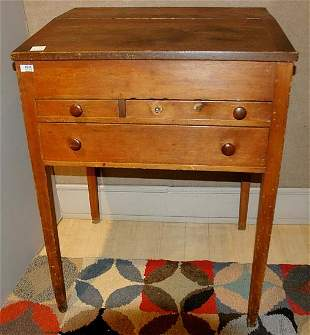 Pine Stand Up Desk