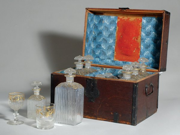 2013: George III Fitted Decanter Box;  Together with Re