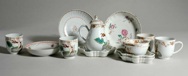 2022: Chinese Export Porcelain Tea and Coffee Partial S