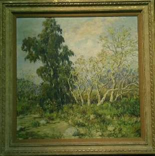 20th Century School EARLY SPRING LANDSCAPE