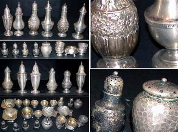 1319: Miscellaneous Group of American Sterling Silver S