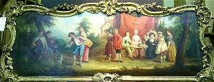 Manner of Watteau THE MARRIAGE CONTRACT