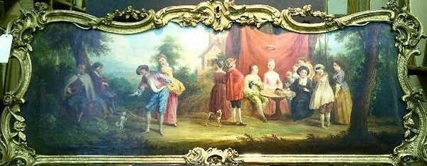2004: Manner of Watteau THE MARRIAGE CONTRACT