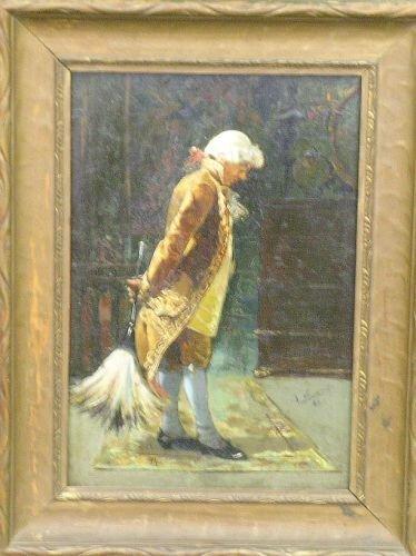 2007: J. Navarro Spanish, 19th century A MOMENT'S REST