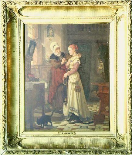 Jan Antoon Neuhuys Dutch, 1832-1891 MARGUERITE BE