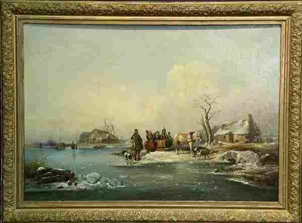 Follower of Charles Henri Joseph Leickert FIGURES