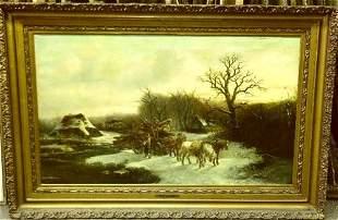 Alexis de Leeuw Belgian, 19th century THE TIMBER