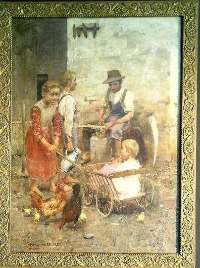 2022: Karl Hartmann German, 1861-1927 BARNYARD PLAY